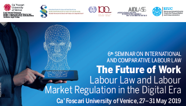 The Future of Work Labour Law and Labour Market Regulation in the Digital Era